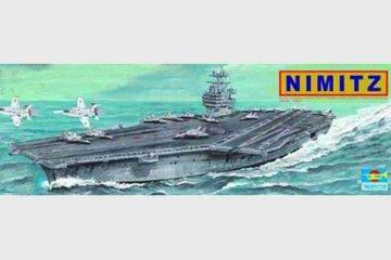 Flugzeugträger USS Nimitz CVN 68 · TRU 05201 ·  Trumpeter · 1:500