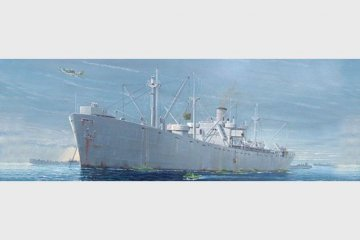 S.S. Jeremiah O´Brien Liberty Ship · TRU 05301 ·  Trumpeter · 1:350