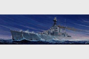 HMS Hood · TRU 05302 ·  Trumpeter · 1:350