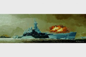 Schlachtschiff USS North Carolina BB-55 · TRU 05303 ·  Trumpeter · 1:350