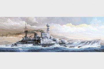 HMS Repulse 1941 · TRU 05312 ·  Trumpeter · 1:350