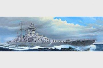 German cruiser Prinz Eugen 1945 · TRU 05313 ·  Trumpeter · 1:350
