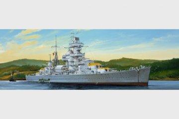 German Cruiser Admiral Hipper 1941 · TRU 05317 ·  Trumpeter · 1:350