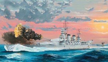 Italian Navy Battleship RN Littorio 1941 · TRU 05319 ·  Trumpeter · 1:350