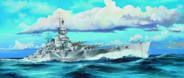 Italian Navy Battleship RN Vittorio Veneto 1940 · TRU 05320 ·  Trumpeter · 1:350