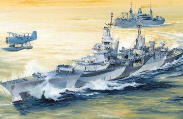 USS Indianapolis CA-35 1944 · TRU 05327 ·  Trumpeter · 1:350