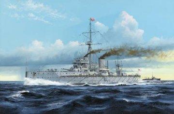 HMS Dreadnought 1907 · TRU 05328 ·  Trumpeter · 1:350