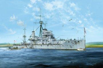 HMS Dreadnought 1915 · TRU 05329 ·  Trumpeter · 1:350