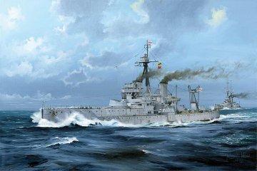 HMS Dreadnought 1918 · TRU 05330 ·  Trumpeter · 1:350