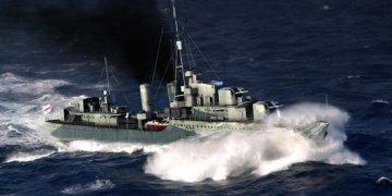 HMS Eskimo Destroyer 1941 · TRU 05331 ·  Trumpeter · 1:350