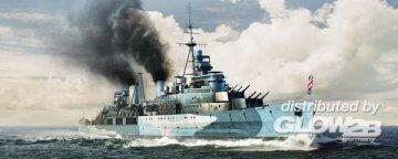 HMS Belfast 1942 · TRU 05334 ·  Trumpeter · 1:350