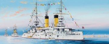 Russian Navy Tsesarevich Battleship 1904 · TRU 05338 ·  Trumpeter · 1:350