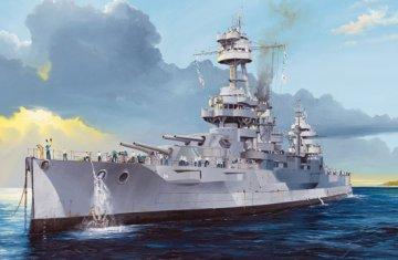 USS New York BB-34 · TRU 05339 ·  Trumpeter · 1:350