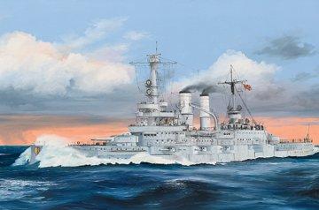 Schleswig-Holstein Battleship 1935 · TRU 05354 ·  Trumpeter · 1:350