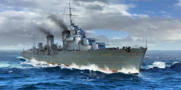 Russian Destroyer Taszkient 1942 · TRU 05357 ·  Trumpeter · 1:350