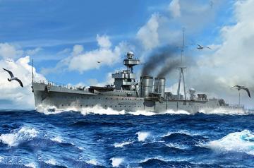HMS Calcutta · TRU 05362 ·  Trumpeter · 1:350
