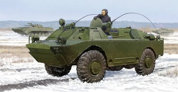 Russian BRDM-2UM · TRU 05514 ·  Trumpeter · 1:35