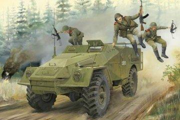 Russian BTR-40 APC · TRU 05517 ·  Trumpeter · 1:35