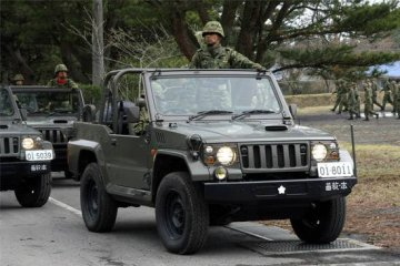 Japanese type 73 Jeep - New type · TRU 05520 ·  Trumpeter · 1:35