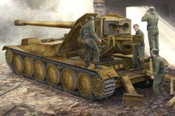12,8cm PAK 44 Waffenträger Krupp 1 · TRU 05523 ·  Trumpeter · 1:35