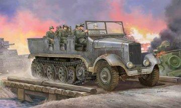 German Sd.Kfz.6 Halbkettenzugm. Artill. · TRU 05531 ·  Trumpeter · 1:35
