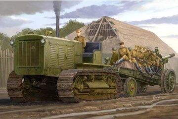 Russian ChTZ S-65 Tractor · TRU 05538 ·  Trumpeter · 1:35