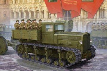Soviet Komintern Artillery Tractor · TRU 05540 ·  Trumpeter · 1:35