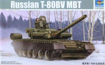 Russian T-80BV MBT · TRU 05566 ·  Trumpeter · 1:35