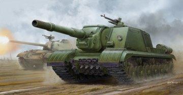 Soviet JSU-152K Armored Self-Propelled Gun · TRU 05591 ·  Trumpeter · 1:35