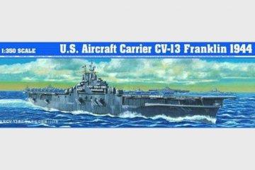 Flugzeugträger USS CV-13 Franklin · TRU 05604 ·  Trumpeter · 1:350