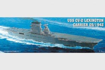 Flugzeugträger USS Lexington CV 2 · TRU 05608 ·  Trumpeter · 1:350