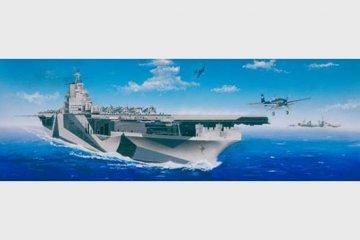 Flugzeugträger USS Ticonderoga CV-14 · TRU 05609 ·  Trumpeter · 1:350