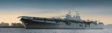 USS IWO JIMA LHD-7 · TRU 05615 ·  Trumpeter · 1:350