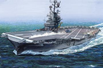 USS Intrepid CV-11 - Re-Edition · TRU 05618 ·  Trumpeter · 1:350