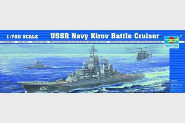 Schlachtkreuzer Kirov · TRU 05707 ·  Trumpeter · 1:700