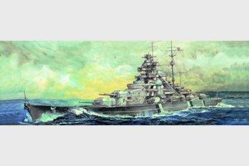 Schlachtschiff Bismarck 1941 · TRU 05711 ·  Trumpeter · 1:700