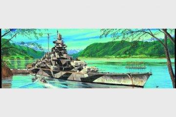 Schlachtschiff Tirpitz · TRU 05712 ·  Trumpeter · 1:700