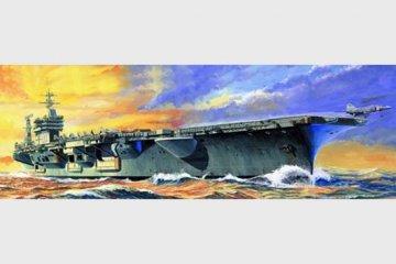 USS Nimitz CVN-68 · TRU 05714 ·  Trumpeter · 1:700
