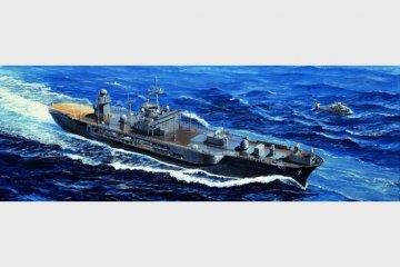 USS Blue Ridge LCC-19 2004 · TRU 05717 ·  Trumpeter · 1:700