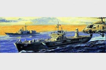 USS Mount Whitney LCC-20 2004 · TRU 05718 ·  Trumpeter · 1:700