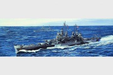 USS Pittsburgh CA-72 1944 · TRU 05726 ·  Trumpeter · 1:700
