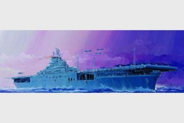 USS Essex CV-9 · TRU 05728 ·  Trumpeter · 1:700
