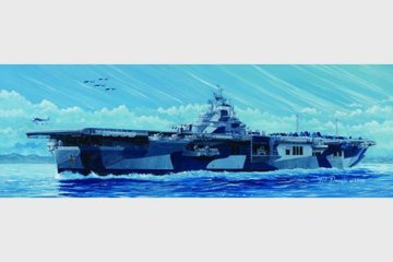 Flugzeugträger USS Franklin CV-13 · TRU 05730 ·  Trumpeter · 1:700