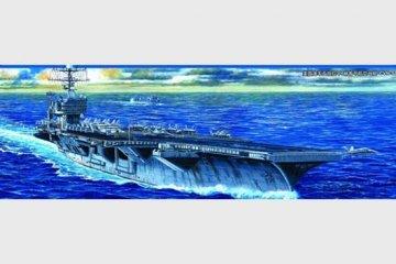 USS Abraham Lincoln CVN-72 · TRU 05732 ·  Trumpeter · 1:700