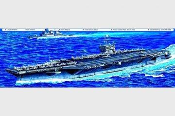 USS John C. Stennis CVN-74 · TRU 05733 ·  Trumpeter · 1:700