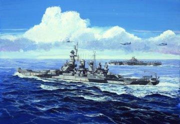 USS North Carolina BB-55 · TRU 05734 ·  Trumpeter · 1:700