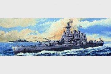 USS Washington BB-56 · TRU 05735 ·  Trumpeter · 1:700