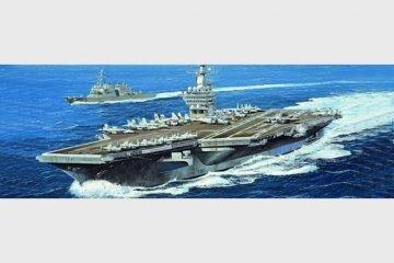USS Nimitz CVN-68 2005 · TRU 05739 ·  Trumpeter · 1:700