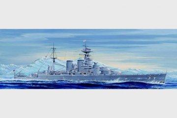 HMS HOOD 1931 · TRU 05741 ·  Trumpeter · 1:700