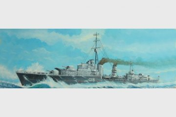 Tribal-class destroyer HMS Zulu (F18)´41 · TRU 05758 ·  Trumpeter · 1:700